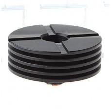 Heat Sink Black 25mm